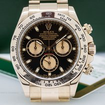 Rolex 116505 Daytona Everose Black Dial 18K Rose Gold /...