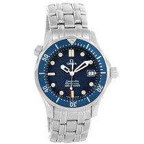 Omega Seamaster James Bond Midsize Blue Dial Watch 2561.80.00 Box