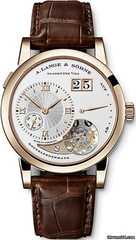 A. Lange &amp;amp; Shne 722.050 Lange 1 Tourbillon &amp;#34;Hommage&amp;#34;, Honey Gold