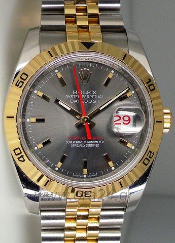 Ρολεξ (Rolex) Datejust Turn-O-Graph Gold/Steel 116263