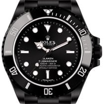 Rolex Submariner (black, DLC) by Blaken
