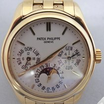 Patek Philippe Perpetual Calendar Yellow Gold Bracelet 5136/1J