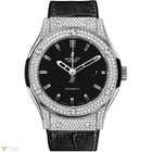 Hublot Classic Fusion Titanium Pave Men's Watch