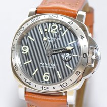 Panerai Luminor GMT Stahl Uhr PAM00029 Papiere Box Limited...