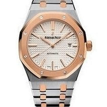 Audemars Piguet Royal Oak Mens 41mm Automatic in Steel and...