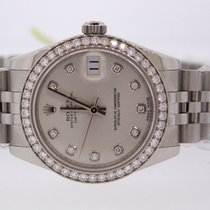 Rolex 31MM FOCTORY DIAMOND DIAL AND BEZEL