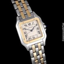 Cartier Panthere Two-Tone Mens Midsize / Unisex Watch, Date