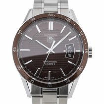 TAG Heuer Carrera 39 Automatic Brown Dial Calibre 5