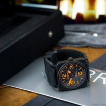 Bell & Ross Aviation Orange Limited Edition xxx/250 Steel/PVD