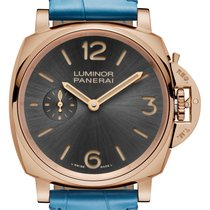 Panerai [NEW] Luminor Due 3 Days Oro Rosso Sun-Brushed Athracite