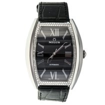 Milus Agenios AGE-SM002 136 DIAMONDS 0,7 ct Alligator Leather