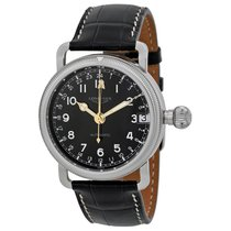 Longines Heritage Automatic Black Dial Stainless Steel Mens...