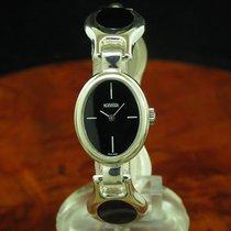 Roamer 835 Silber Handaufzug Damenuhr Mit Onyx Besatz /...