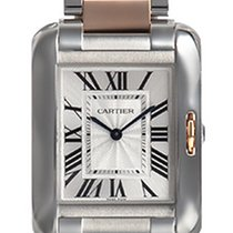 Cartier- Tank Anglaise - Mittleres Modell, Ref. W5310043