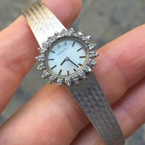 Zenith Art deco Oro Gold Lady lady 24 mm manuale diamanti...