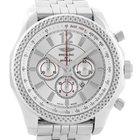 Breitling Bentley Barnato 42 Chronograph Silver Dial Mens...