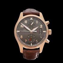 IWC Pilot's Chronograph Spitfire Chronograph 18k Rose Gold...