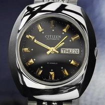 Citizen 21-jeweled Day Date Automatic Stainless Steel Mens...
