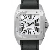 Cartier Santos 100 Medium 44 Leather