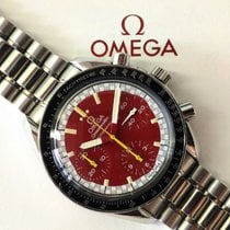 Omega Speedmaster Reduced Schumacher Red Dial