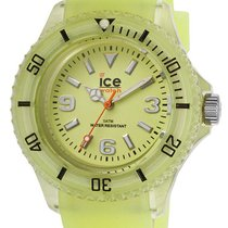 Ice Watch Ice-Glow Polyamide & Silicon Womens Yellow Watch...