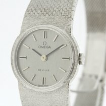 Omega de Ville solid 18K White Gold Ladies Watch Cal. 620 from...