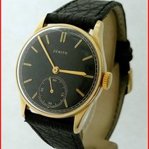 Zenith 1939 18K Solid Gold Manual Wind Cal. 12.4 32mm Black