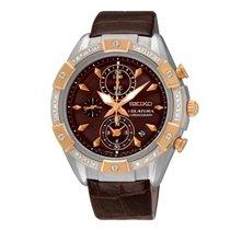 Seiko Uhren Damenuhr Velatura Chronograph SNDV62P1