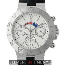 Bulgari Diagono Regatta Chronograph 18k White Gold Ref. CHW40GAM