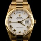 Rolex 18k Yellow Gold President Day-Date 18238