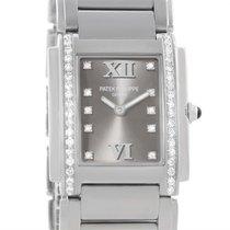 Patek Philippe Twenty-4 Diamond Ladies Watch 4910/10a-010 Box...