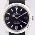 Rolex Explorer I 214270 neues Modell 39mm Rubber B Band Top