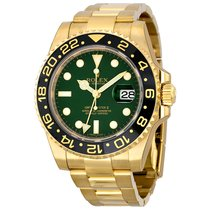 Rolex Watches: 116718 g GMT-Master II Yellow Gold
