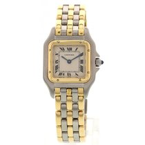 Cartier Ladies Cartier Panthere 18K Yellow Gold & Stainles...