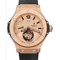 Hublot 302.Pl.500.RX Big Bang Tourbillon in Rose Gold - On...