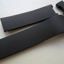 Ulysse Nardin RUBBER BLACK STRAP BAND 23.50 mm x 19 mm