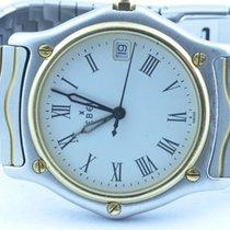 Ebel Classic Wave Herren Uhr Stahl/750 Gold Schöner Zustand Rar