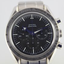 Omega Speedmaster Broad Arrow Chronograph #A3077 Box, Papiere