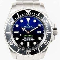 Rolex Deepsea D-Blue Cameron 44mm Ceramic Sea Dweller 116660 NEW