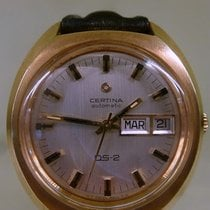Certina huge vintage DS-2 automatic gold plated calibre 25-652