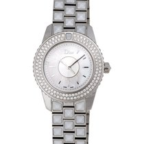 Dior Christal Stainless Steel Diamond Ladies Watch – CD112118M003