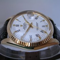 Rolex Date 15038 18 Kt Solid Gold Like New FULL SET