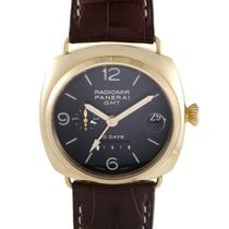 Panerai Radiomir 10 Days Automatic GMT Rose Gold Watch PAM 00273