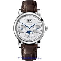 A. Lange & Söhne Saxonia Annual Calendar 330.026 Pre-Owned