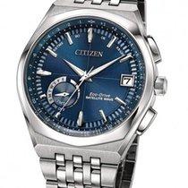 Citizen Satellite Wave World Time GPS Blue Dial Watch CC3020-57L
