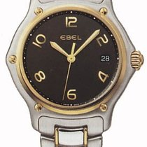 Ebel Black Dial Two-Tone Stainless Steel Quartz Ladies Watch