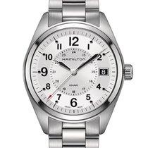 Hamilton Khaki Field Silver Dial Stainless Steel Men's Watch