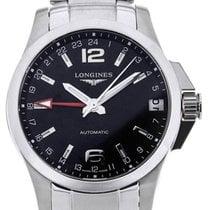 Longines Conquest GMT 41 Black Dial