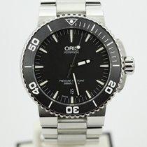 Oris Aquis Date Diver On Bracelet 733-7653-4154 Complete
