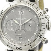Cartier Polished Cartier Pasha 38 Chronograph 2004 Christmas...